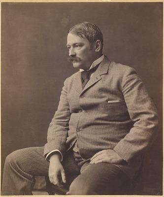Portrait of Thomas Wilmer Dewing, ca. 1900