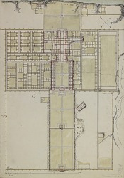 Excavation of Samarra (Iraq): Balkuwara Palace: Watercolor Plan [drawing]