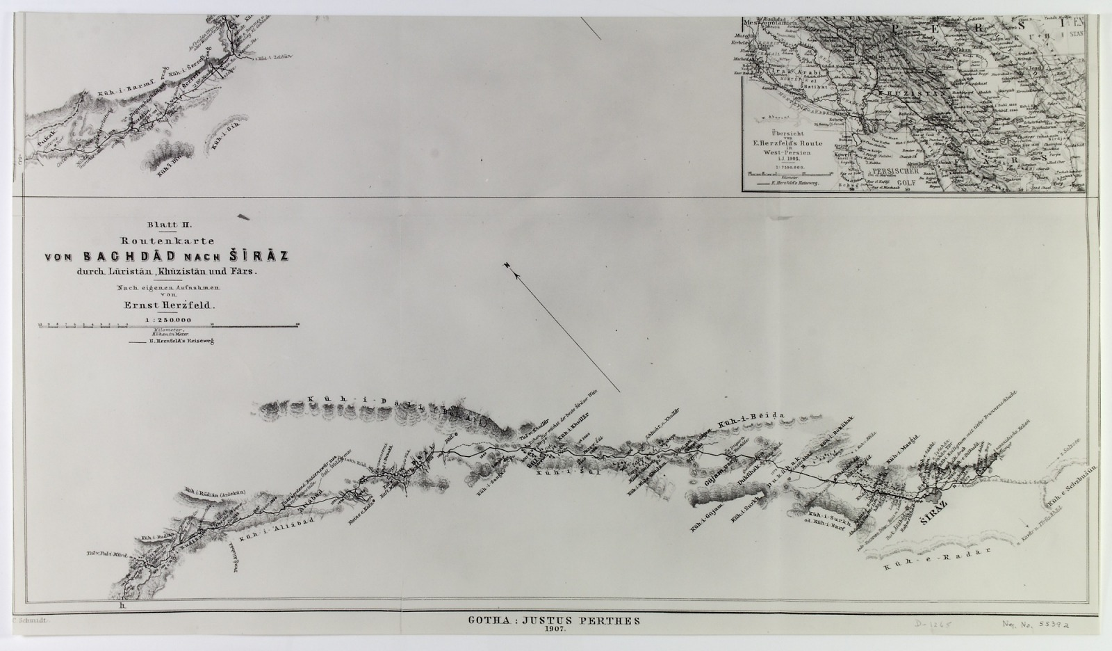 Resources :: Geological Map following Expedition Route from Baghdad ...