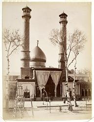 Masjid-i Shah Abd al 'Azim (Shah Abd al 'Azim Mosque) in Tehran (Iran) [graphic]