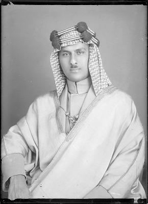 Studio Portrait: Son of King of Bahrain [graphic]