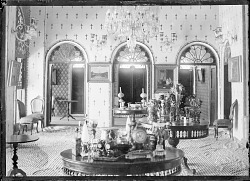Shahristanak (Iran): Imarat-i Shahristanak, the Royal Summer Compound: View of Upper Room of the Palace [graphic]