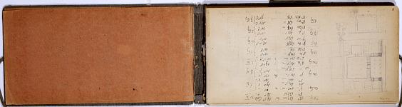 Ernst Herzfeld Papers, Series 2: Sketchbooks; Subseries 2.01: Persia, 1923: Sketchbook 05