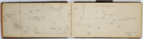 Ernst Herzfeld Papers, Series 2: Sketchbooks; Subseries 2.01: Persia, 1924: Sketchbook 07