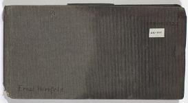 Ernst Herzfeld Papers, Series 2: Sketchbooks; Subseries 2.01: Persia, 1924: Sketchbook 08