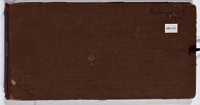 Ernst Herzfeld Papers, Series 2: Sketchbooks; Subseries 2.02: Pasargadae, 1928: Sketchbook 09
