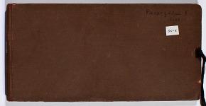 Ernst Herzfeld Papers, Series 2: Sketchbooks; Subseries 2.02: Pasargadae, 1928: Sketchbook 10