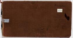 Ernst Herzfeld Papers, Series 2: Sketchbooks; Subseries 2.07: Persepolis: Sketchbook 19