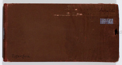 Ernst Herzfeld Papers, Series 2: Sketchbooks; Subseries 2.12: Antiquities 1: Sketchbook 27