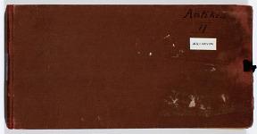 Ernst Herzfeld Papers, Series 2: Sketchbooks; Subseries 2.12: Antiquities 2: Sketchbook 28