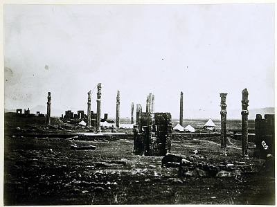 Persepolis (Iran): Gate of All Lands (Foreground) and Apadana (Background) [graphic]