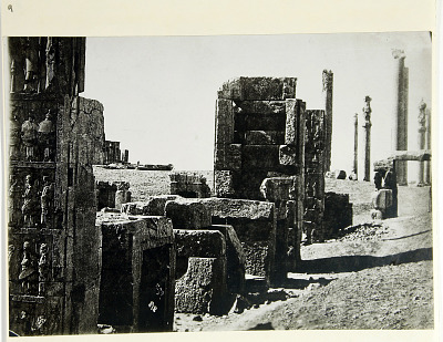 Persepolis (Iran): Northern Wall of the Throne Hall (Talar-i Takht) [graphic]