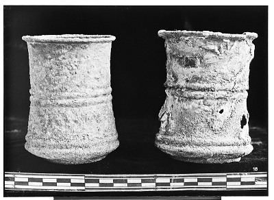 Vicinity of Nihavand (Iran): Two Metal Goblets, from Prehistoric Mound of Tepe Giyan [graphic]