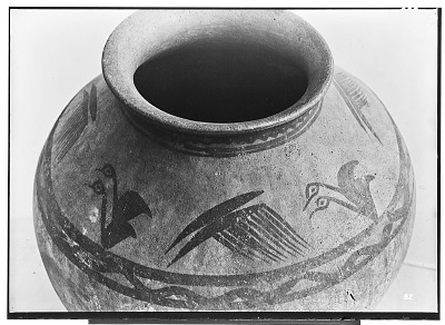 Vicinity of Nihavand (Iran): Ceramic Vessel with Painted Pattern and Animal Design, from Prehistoric Mound of Tepe Giyan [graphic]