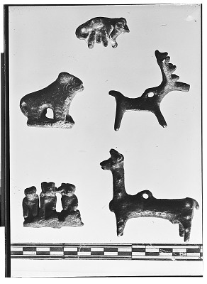 Bronze Objects with Animal Design [graphic]