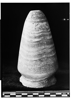 Alabaster Conical Vessel [graphic]