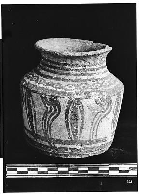 Burujird (Iran): Ceramic Vessel with Painted Pattern [graphic]