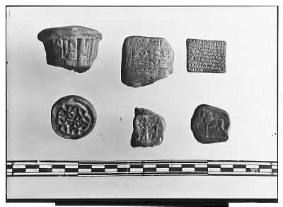 Seals and Clay Cuneiform Tablets [graphic]