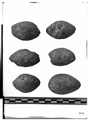 Excavation of Persepolis (Iran): Stone Beads, from Prehistoric Mound of Tal-i Bakun (PPA) [graphic]