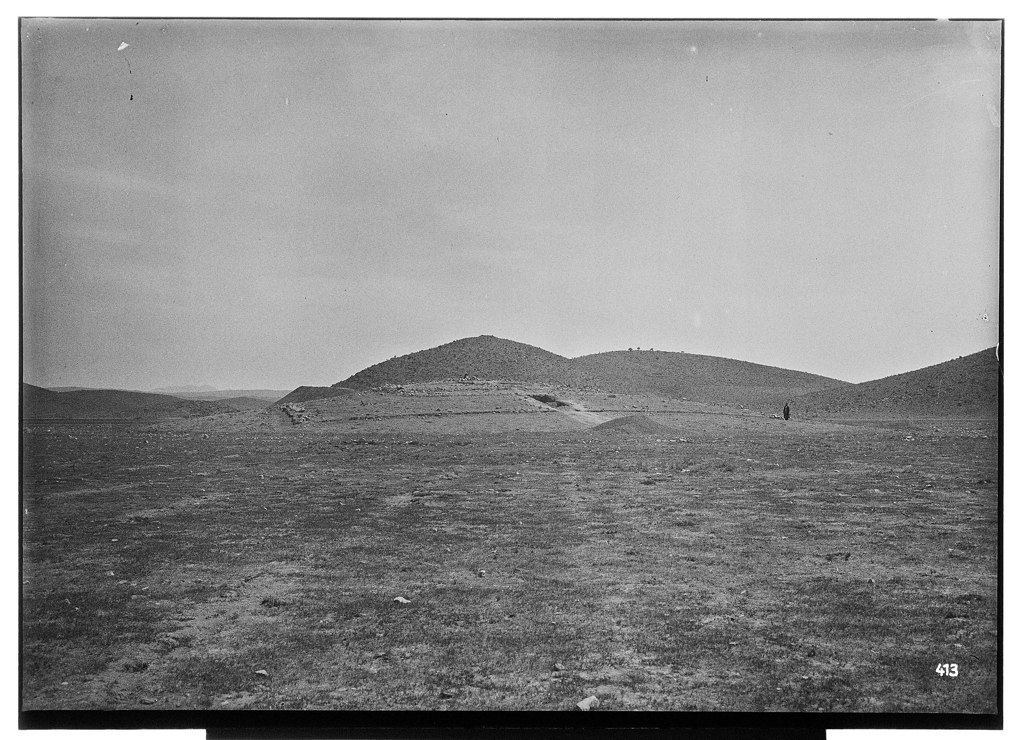 Excavation of Pasargadae (Iran): View of the Valley with Archaeological Sites