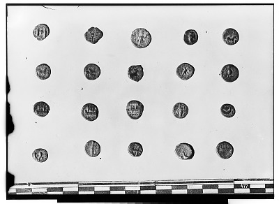 Reverse of Twenty Small Unidentified Coins [graphic]