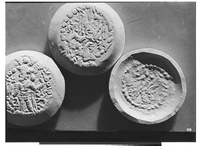 Casts of Kushan Coins [graphic]
