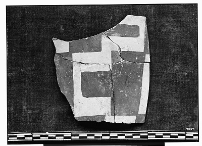 Excavation of Persepolis (Iran): Fragments of Ceramic Vessels with Painted Patterns and Geometrical Ornamentation, from Prehistoric Mound of Tal-i Bakun (PPA) [graphic]