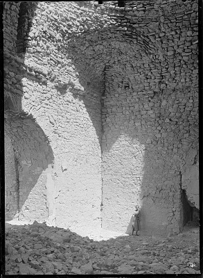 Vicinity of Firuzabad (Iran): Qal'a-ye Dokhtar: Interior View of the Sassanid Fortress [graphic]