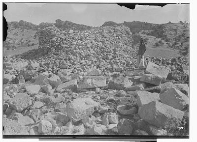 Paikuli (Iraq): Ruins of the Sassanid Monument [graphic]