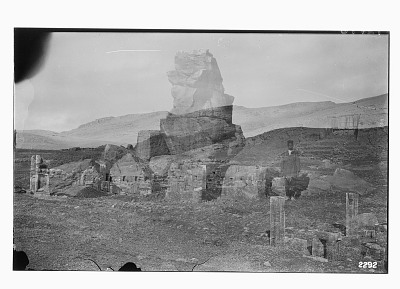 Excavation of Persepolis (Iran): Unfinished Gate Located in the North-East Quadrant of the Terrace Complex (Double Exposure) [graphic]