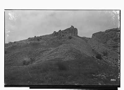 Bishapur (Iran): Over a Rocky Cliff, Ruins of a Sassanid Fortress [graphic]