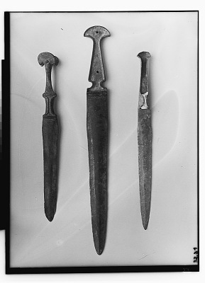 Luristan (Iran): Bronze Daggers, One with Human Figurine [graphic]