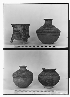 Vicinity of Nihavand (Iran): Ceramic Vessels with Painted Pattern and Geometric Ornaments, from Prehistoric Mound of Tepe Giyan [graphic]