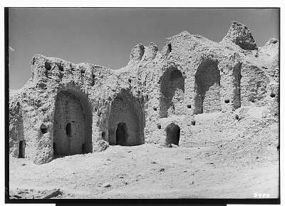 Excavation of Kuh-e Khwaja (Iran): Section of Town, East of Ruins of Ghaga-Shahr [graphic]
