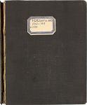 Account Ledger, 1907-1917