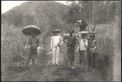 Mindanao: Porters. August 22 to 23, 1905