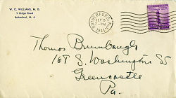 Correspondence, Abbott H. Thayer to the Beaches, Dewing, Endicott, the Kings 1891-1915