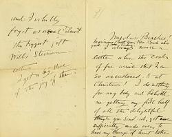 Correspondence, Harrington - Moser 1848-1924