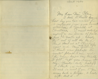 The Brumbaugh Collection of Artist Letters, 1831-1979