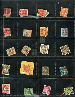 Stamps undated