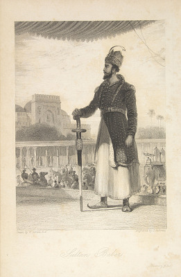 Sultan Baber: The Oriental Annual. July 20, 1839