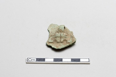 Fragment with monster mask
