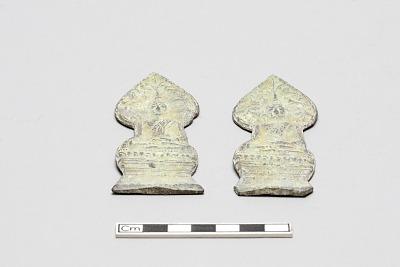 Two votive plaques