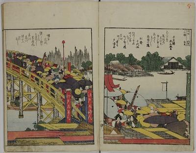 Ehon Sumidagawa ryōgan ichiran