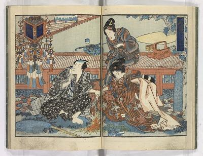 Tsukushi matsu fuji no shigarami