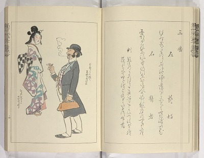 Tōsei fūzoku gojūban uta-awase