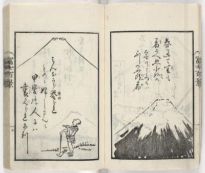 Fujisan hyakkei kyōka shū