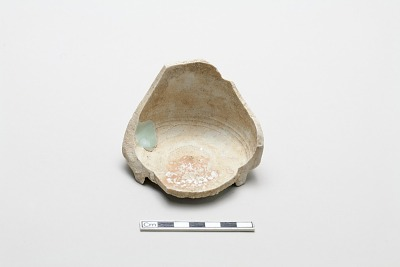 Incense burner, base fragment