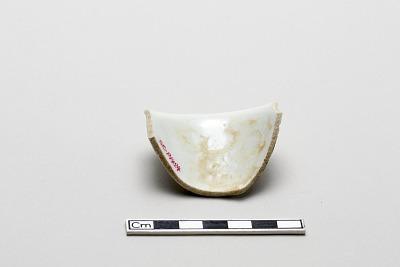 Sake cup, fragment