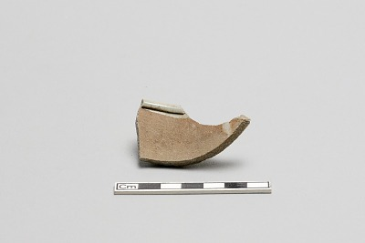Fragment, small cylindrical cup (?) or incense burner?